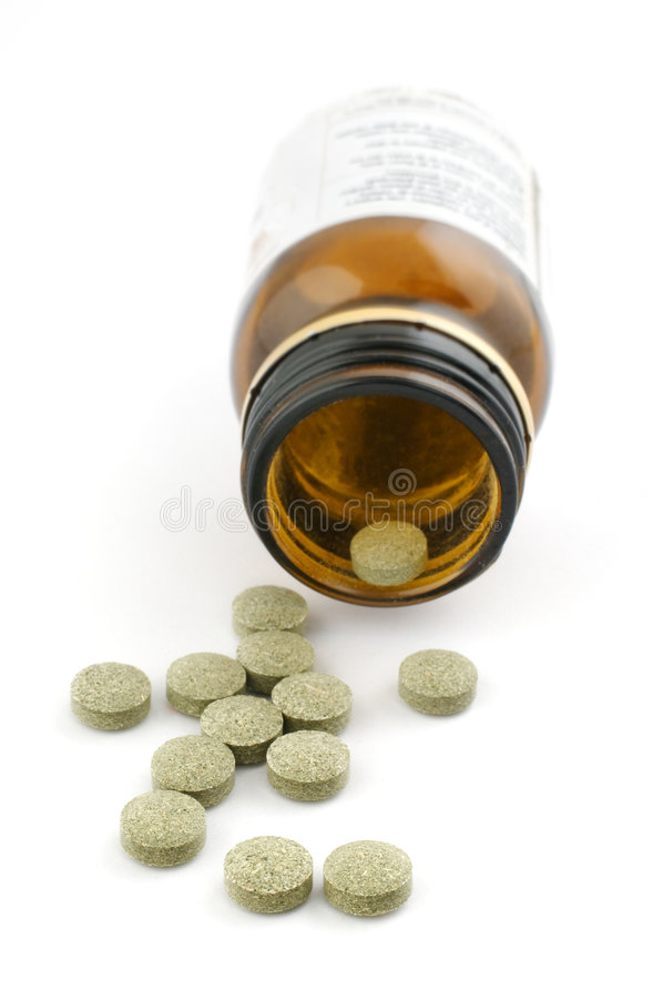 Homeopathic pills stock images