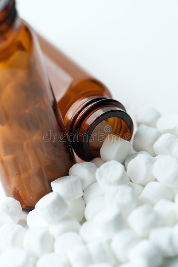 Homeopathic Tissue Salts Stock Image