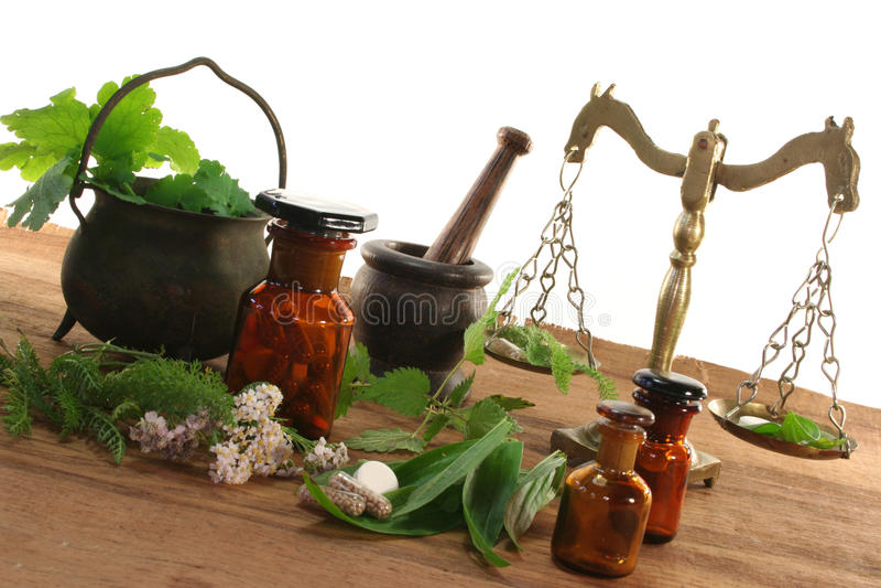 homeopatia fotografia royalty free