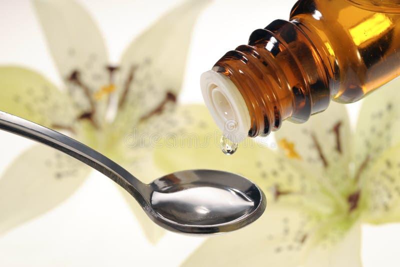 homeopatia fotografia stock
