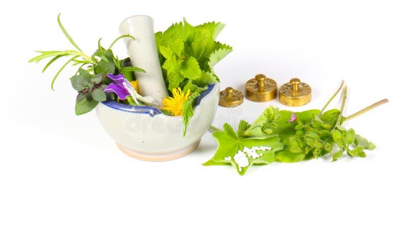 Homeopatia odizolowywająca obraz stock