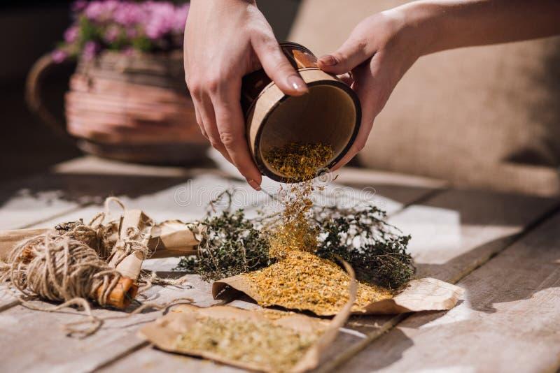 Homeopatyczna alternatywna medycyna terapii medycznej obrazy stock