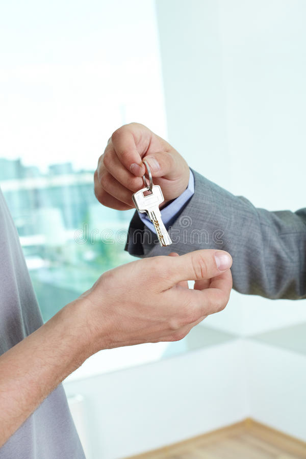 Homeowner royalty free stock image