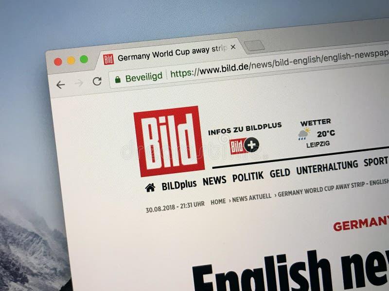 Homepage del Bild immagine stock libera da diritti