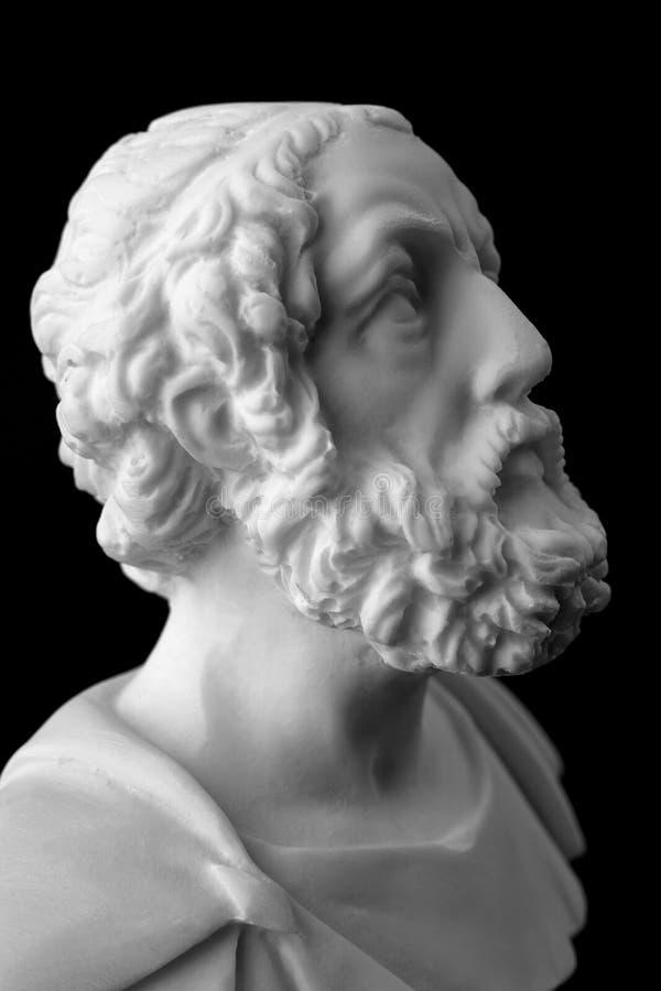 Homer est l'auteur des poèmes, de l'iliade et de l'odyssée connus sous le nom de photos libres de droits