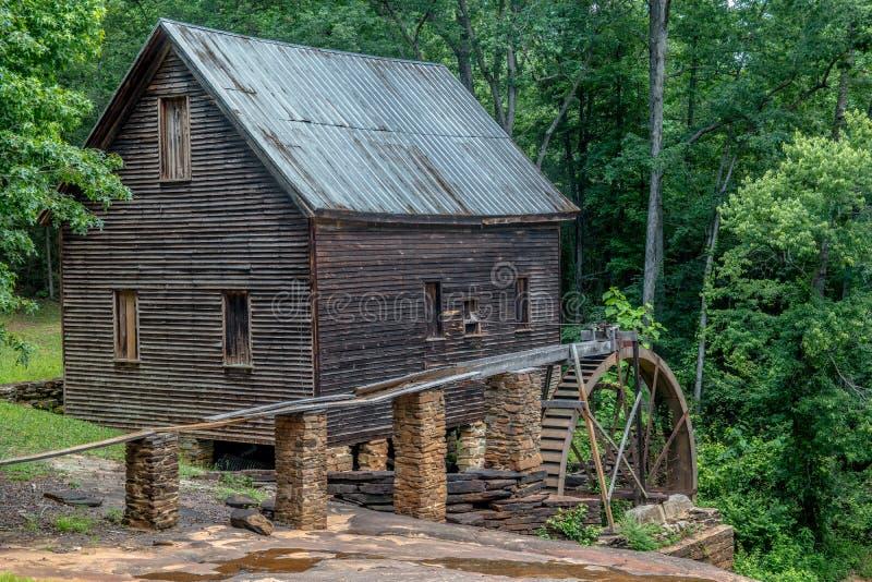 Homer, moulin de la Géorgie Etats-Unis 06/10/17 Ragsdale image stock