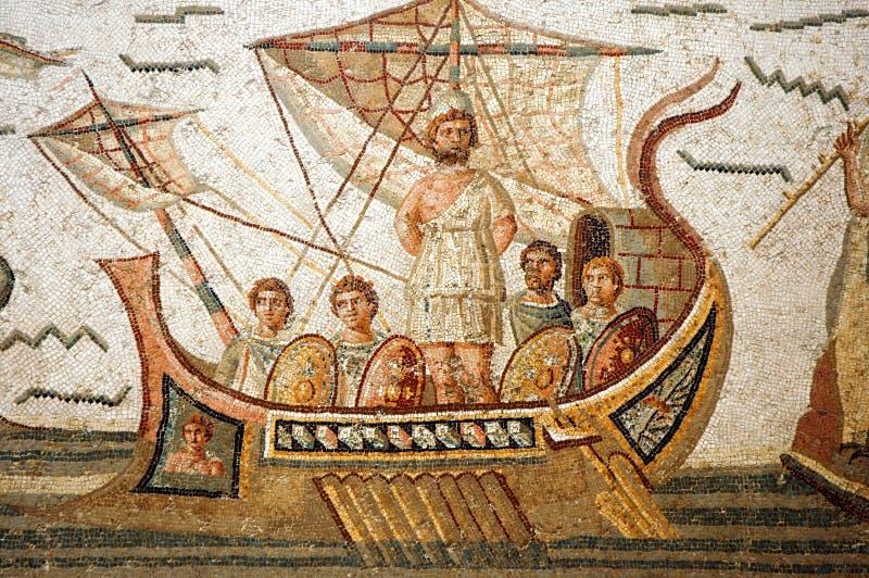 Homers Odyssee lizenzfreies stockbild