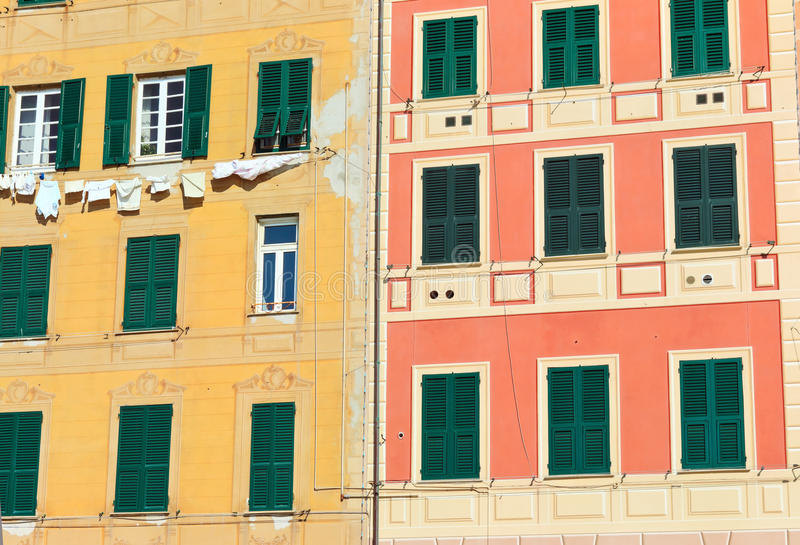 Download Homes Exterior In Camogli Stock Photography - Image: 29990762