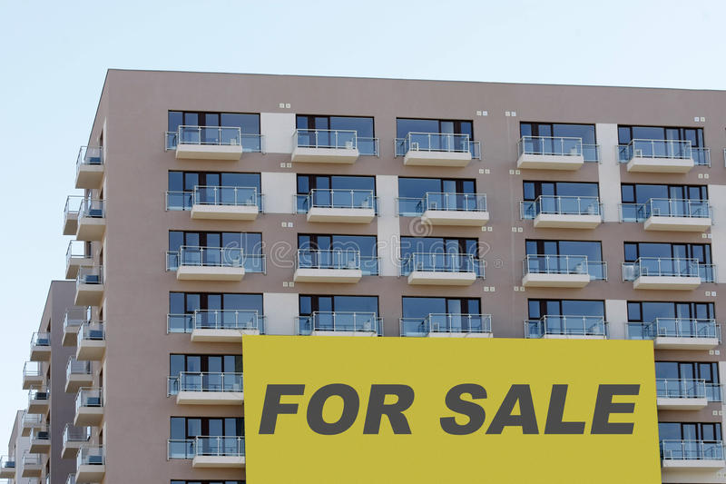 Download Apartments for sale stock photo. Image of balcony, block - 25071190
