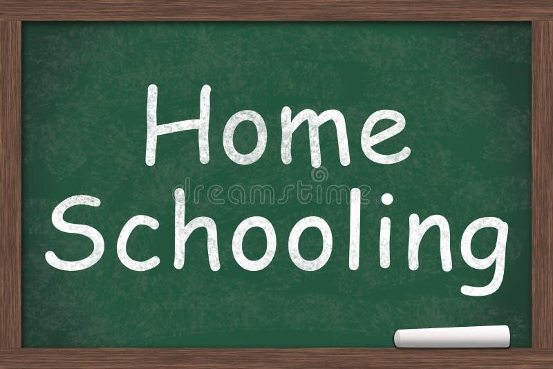 homeschooling illustration libre de droits