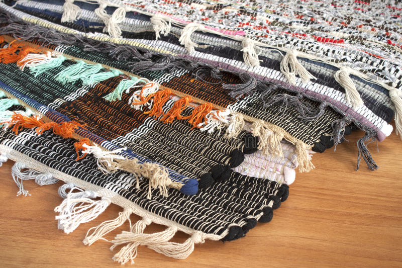 Download Homespun mat stock photo. Image of crafts, variegated - 17398010