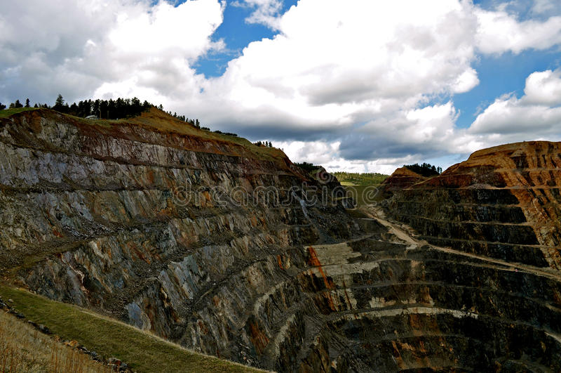 Homestake Mine Lead South Dakota stock images