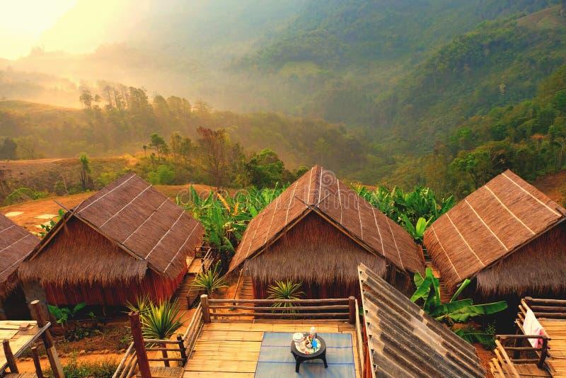 Homestay en Chiang Rai en Tailandia fotografía de archivo