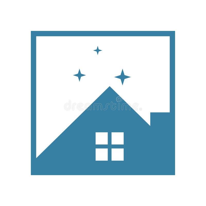 Homestay Night Property stock illustration