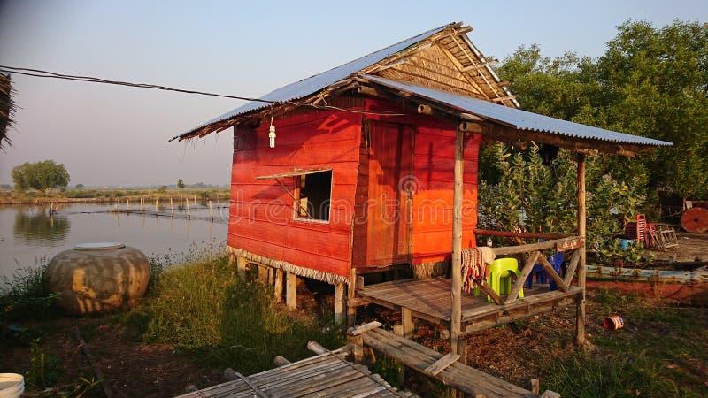 homestay van klapyai royalty-vrije stock fotografie