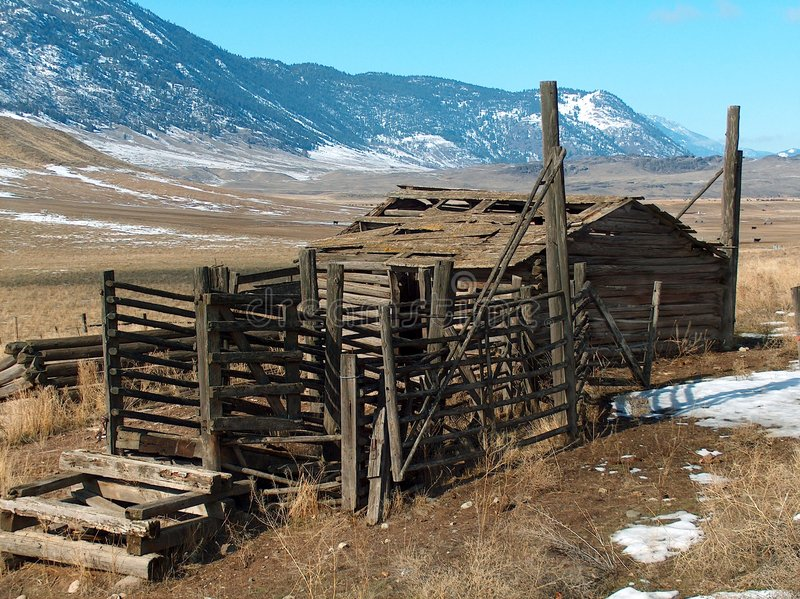 Download Homestead Corral Royalty Free Stock Images - Image: 74169