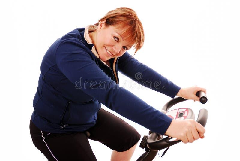 Hometrainer stock foto