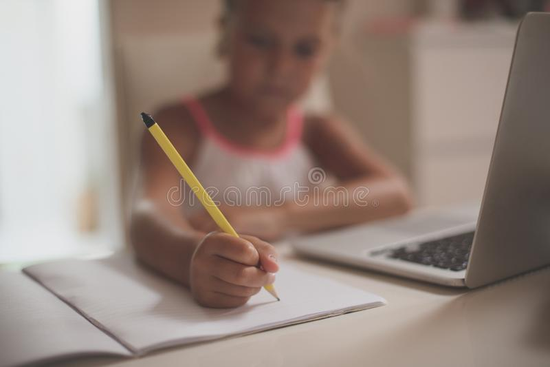 homework obraz stock