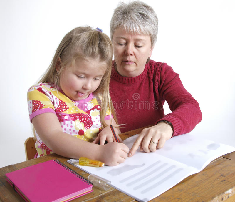 Download Homework stock photo. Image of concentrated, child, concentration - 13724746