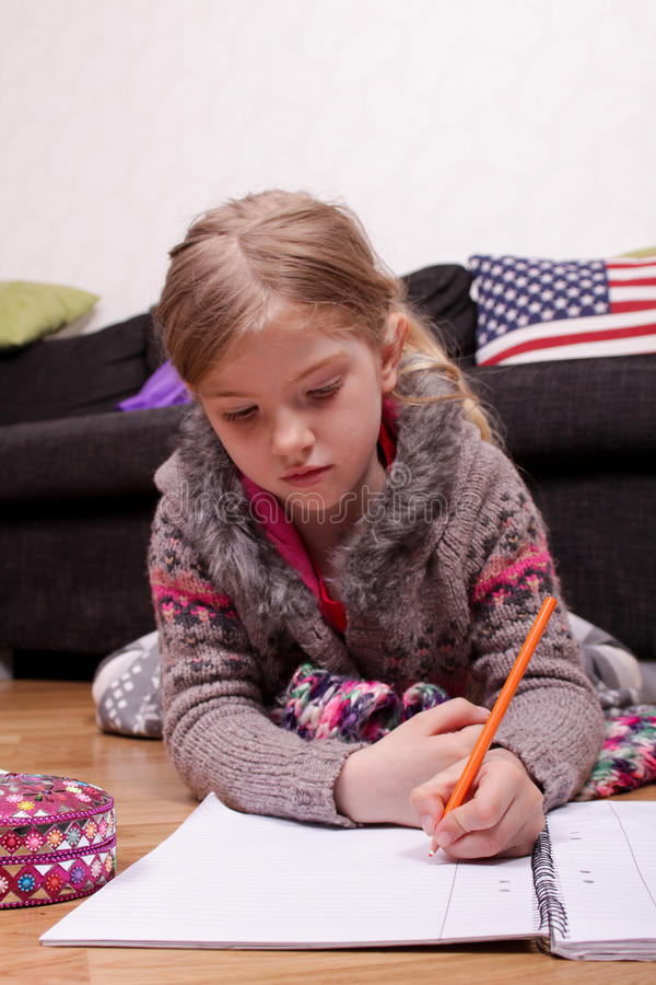 Download Homework stock image. Image of draw, young, homework - 24833579