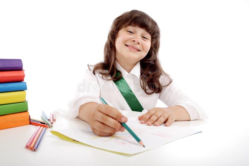Download Homework stock photo. Image of book, female, creativity - 2774774