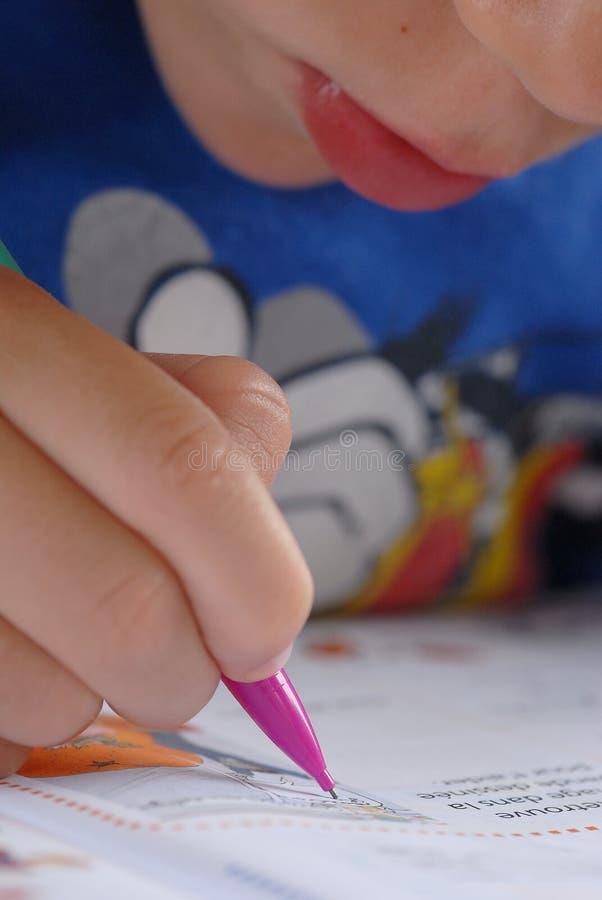 Download Homework stock illustration. Image of exercise, children - 2930040