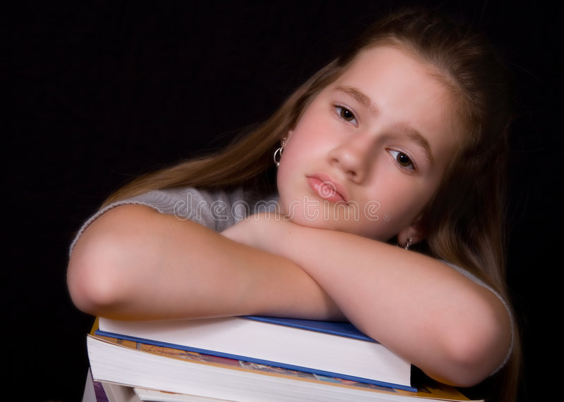 Download Homework Blues Royalty Free Stock Photography - Image: 3243837