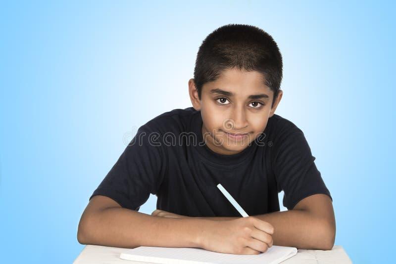 Homework stock photography
