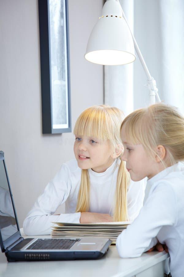 Homework royalty free stock image