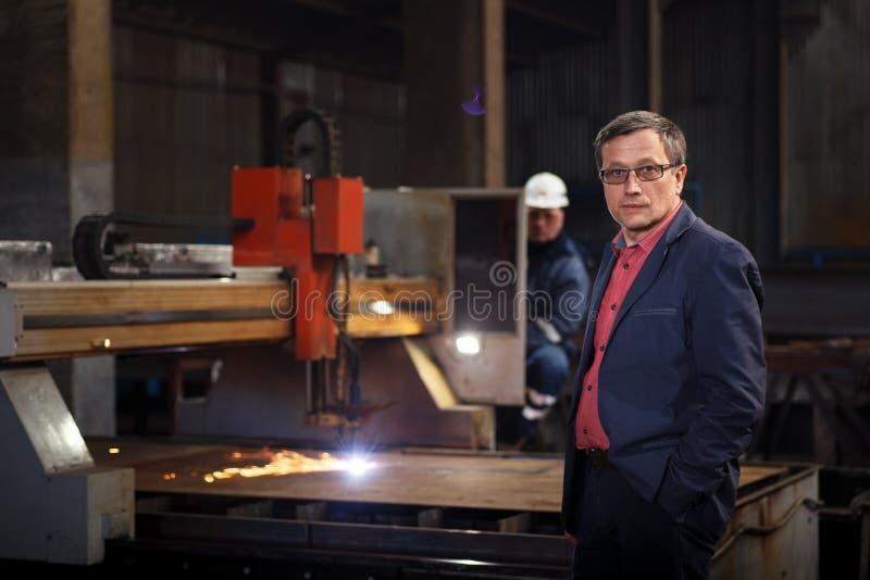 Homme à l'homme d'affaires de travail photographie stock libre de droits