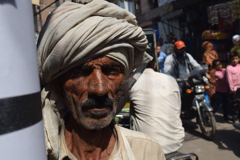 Homme à Lahore photo stock