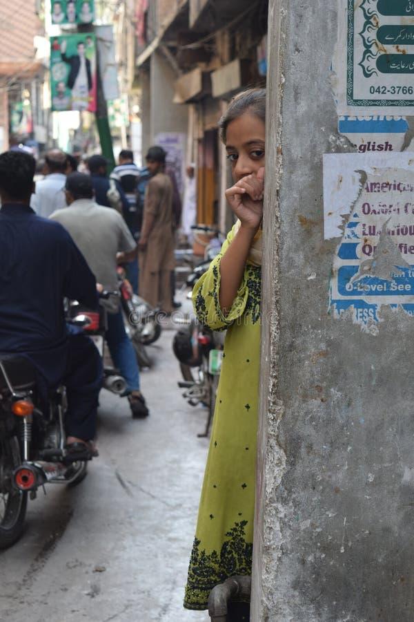 Homme à Lahore images stock