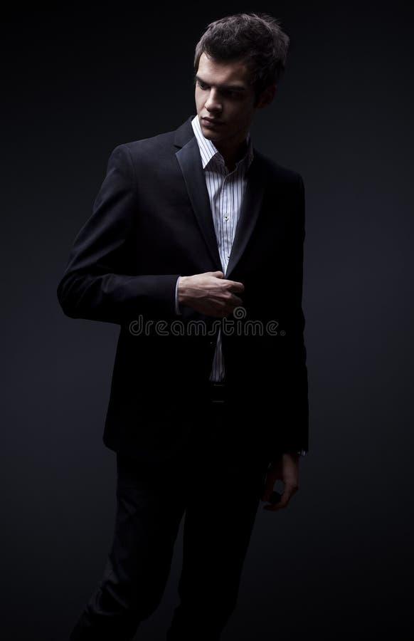 Homme élégant photographie stock