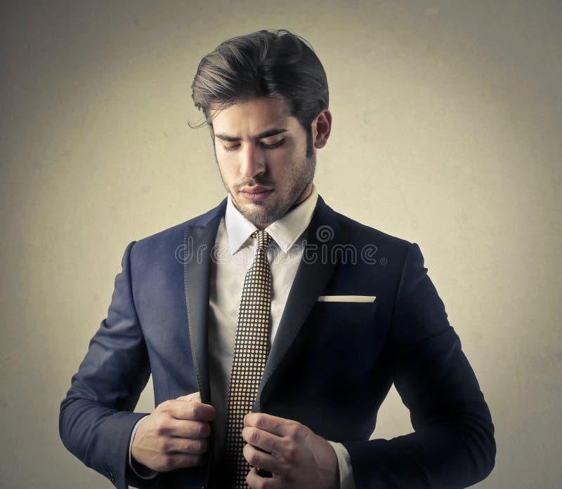 Homme élégant photo stock