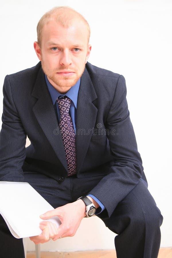 Homme 2 d'affaires images libres de droits