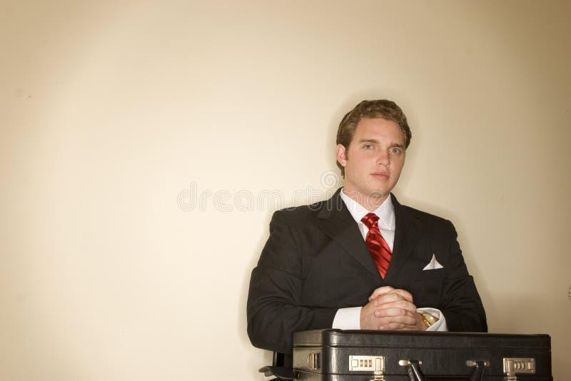 Homme 7 d'affaires photographie stock
