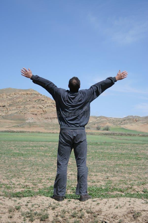 Download Homme photo stock. Image du noir, nature, voyez, live, vert - 742274
