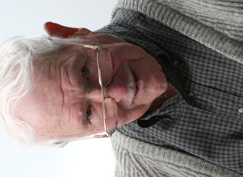 Homme aîné photo libre de droits