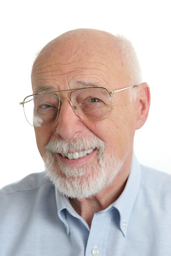 Homme aîné - amical photos stock