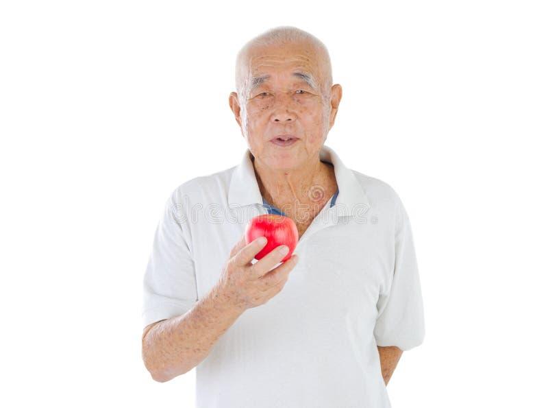 Homme aîné asiatique photographie stock