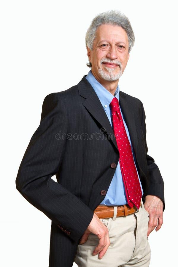 Homme aîné d'affaires photo stock