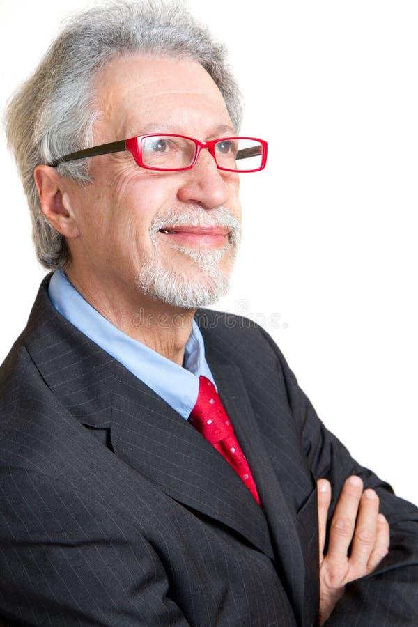 Homme aîné d'affaires photo libre de droits