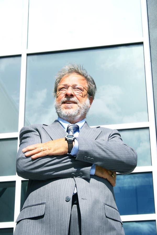 Homme aîné d'affaires photos libres de droits