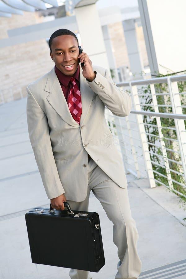 Homme africain d'affaires image libre de droits
