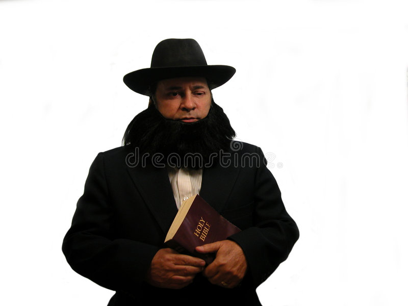 Homme amish photographie stock libre de droits