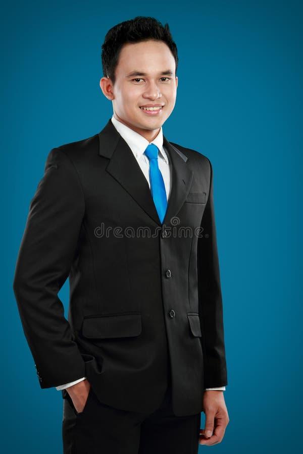 Homme asiatique d'affaires images stock