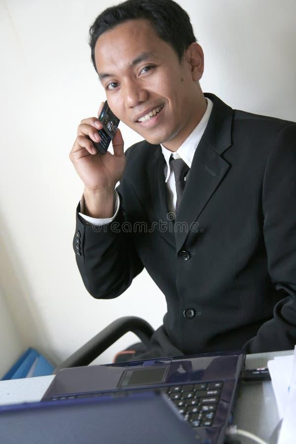 Homme asiatique d'affaires photo libre de droits