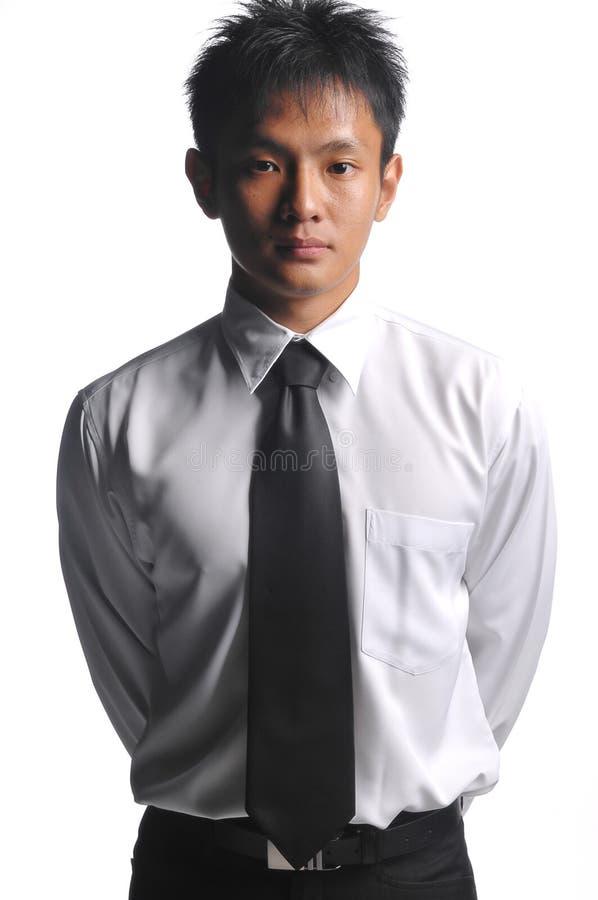 Homme asiatique réussi d'affaires photographie stock