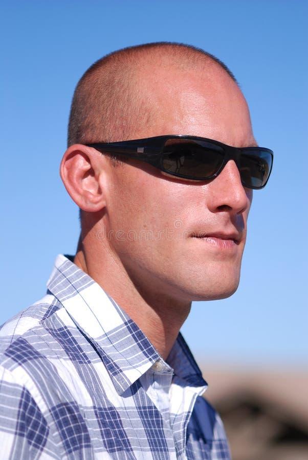 Homme attirant. image stock