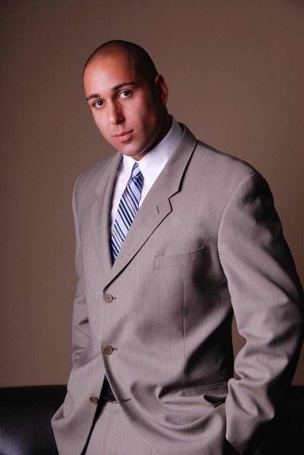 Homme attirant d'affaires. photographie stock libre de droits